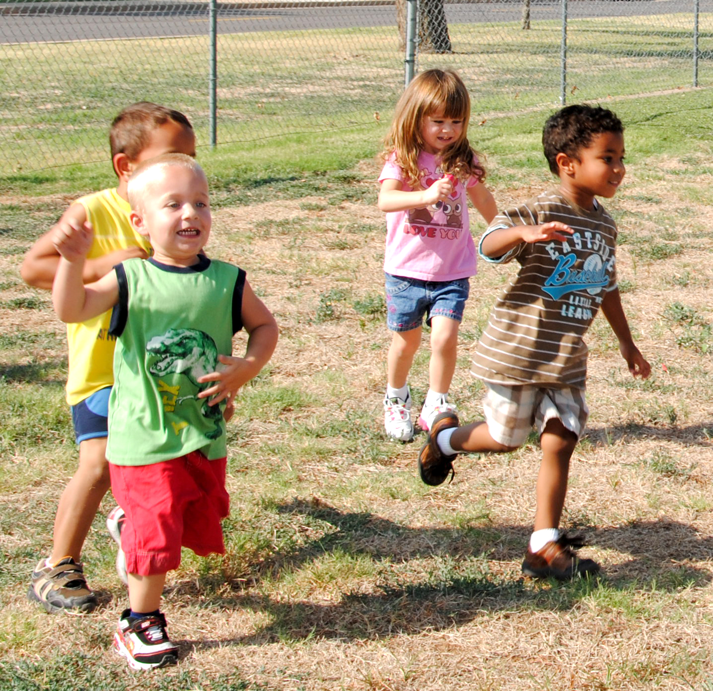 Time outsider to run and play gives focus in the classroom.