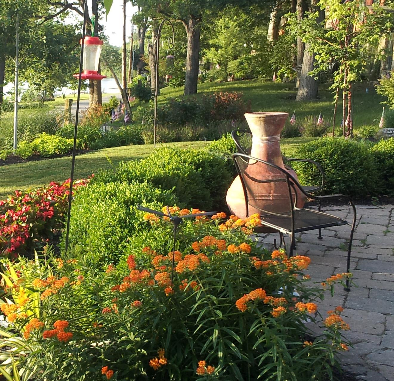 Landscape designers have extensive horticultural knowledge.