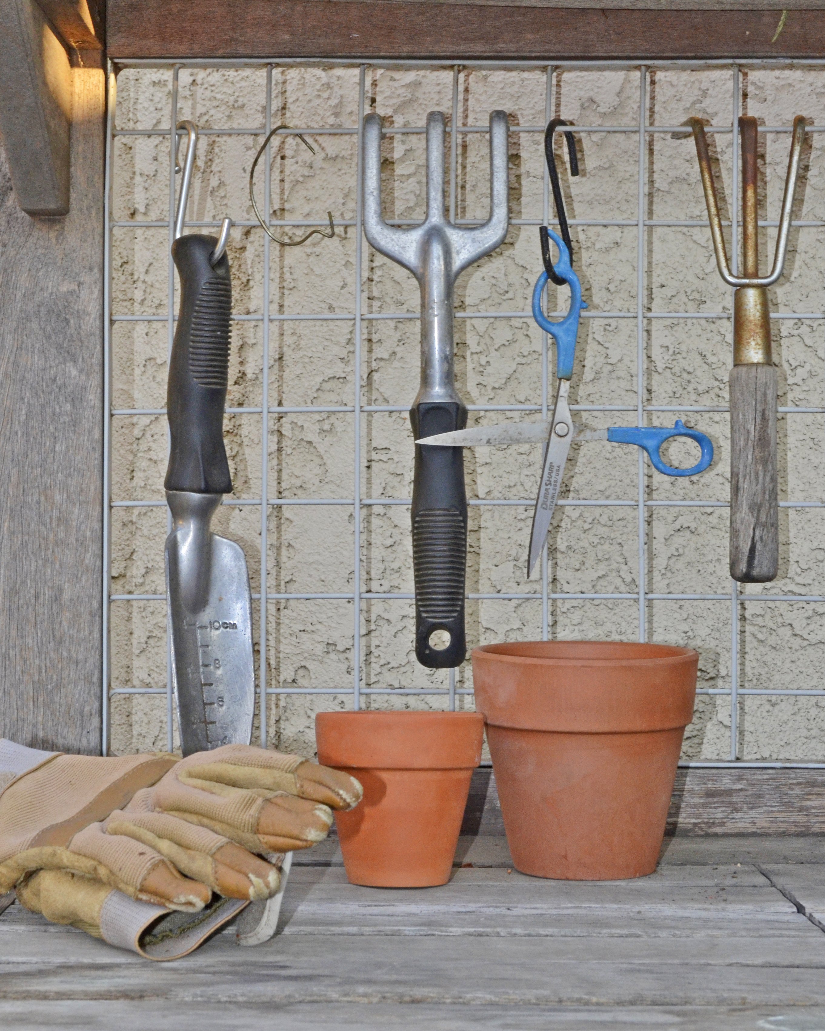 Quality tools and gloves are a gardener's mainstay