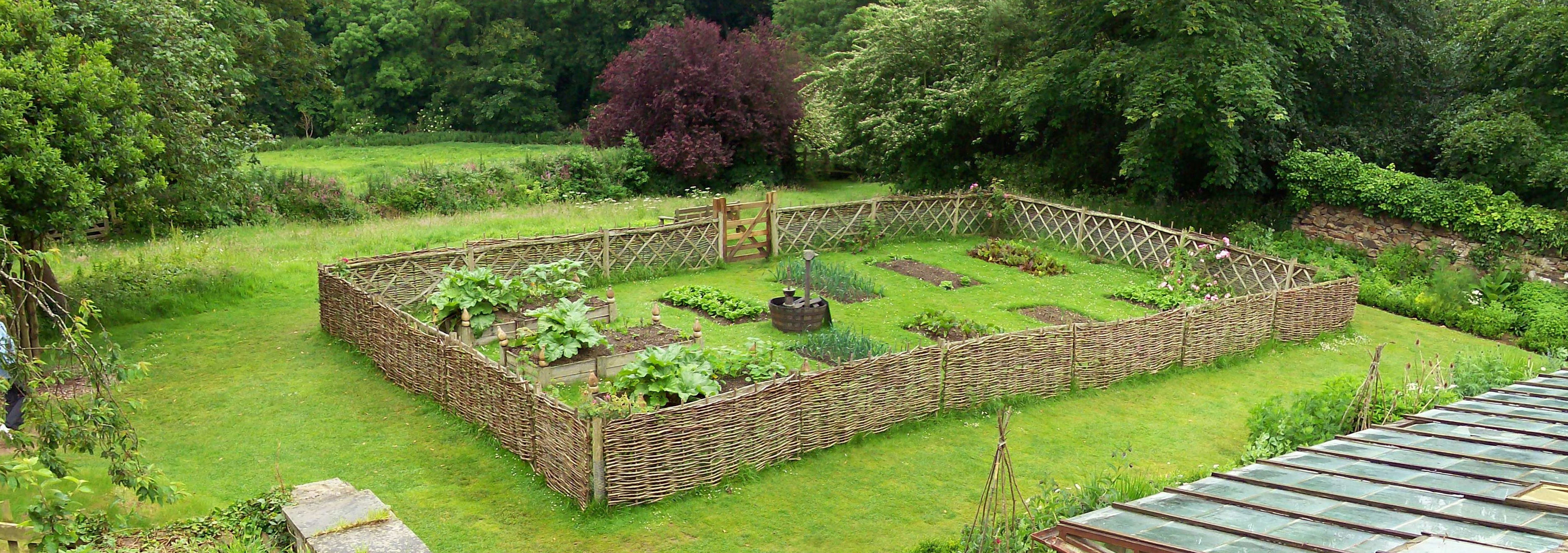 Protective fencing can be ornamental.