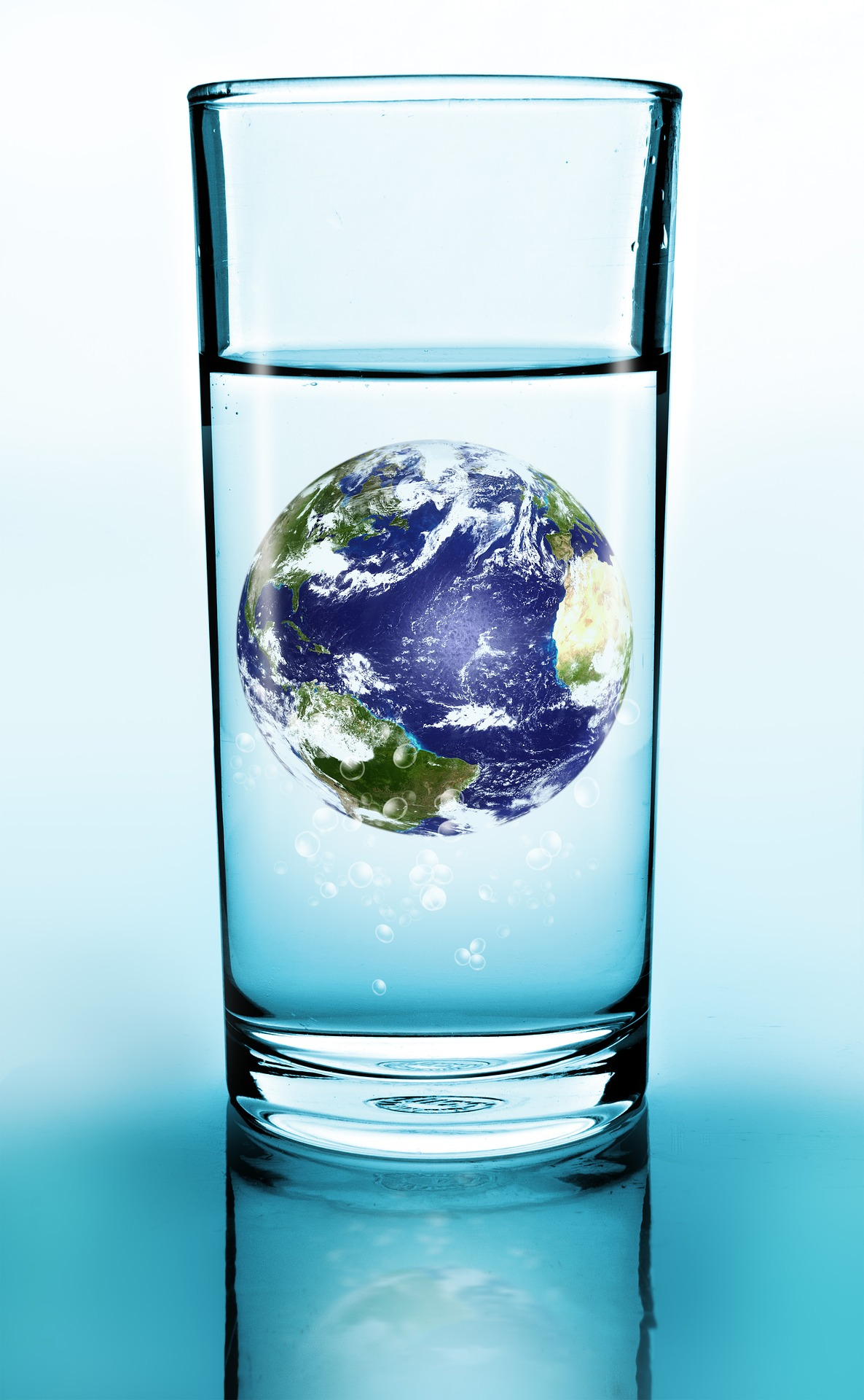 Although our planet is primarily covered in water, very little of it is available for human use.